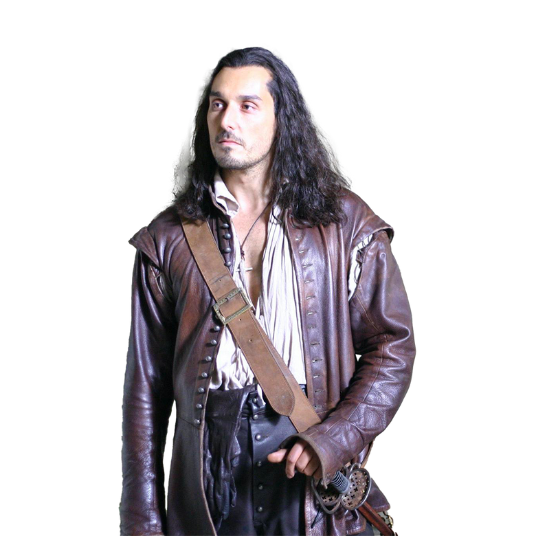 premier plan D'Artagnan et les trois mousquetaires