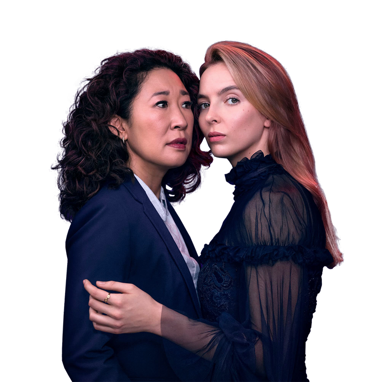premier plan Killing Eve