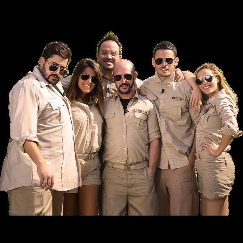 premier plan Les Touristes : Mission Safari