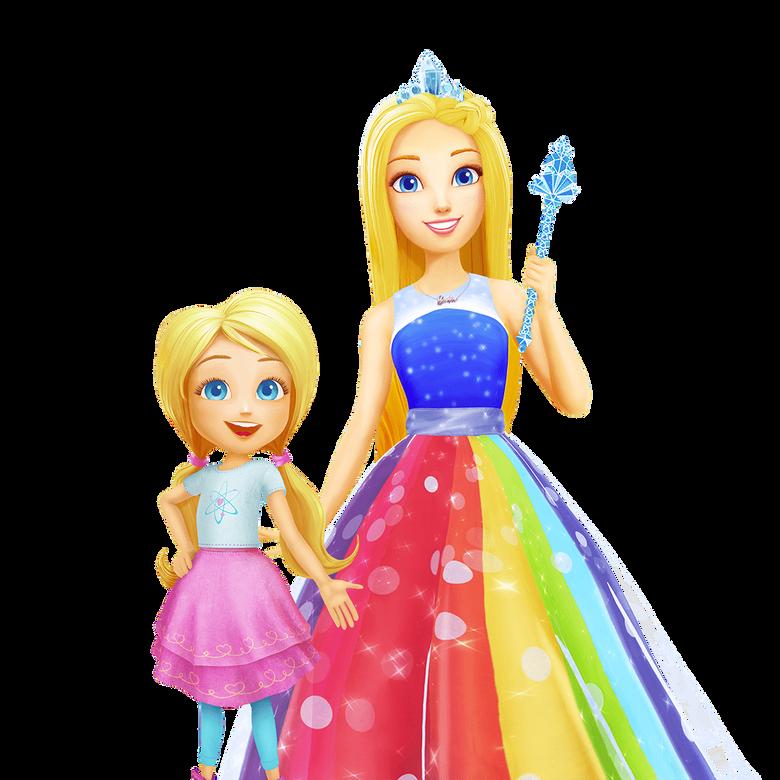 premier plan Barbie Dreamtopia