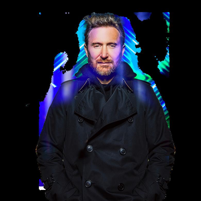 premier plan David Guetta