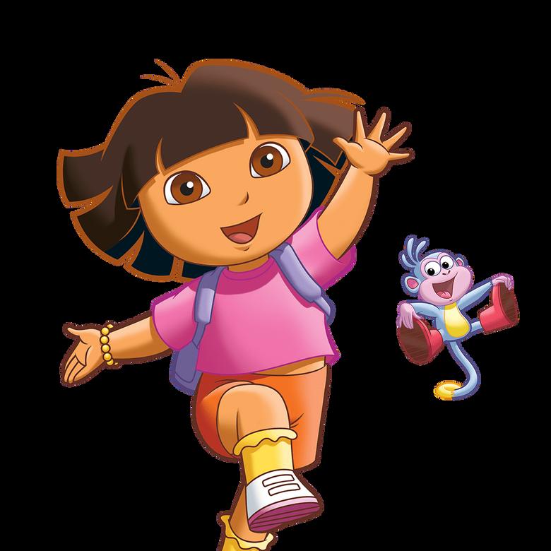 premier plan Dora l'exploratrice
