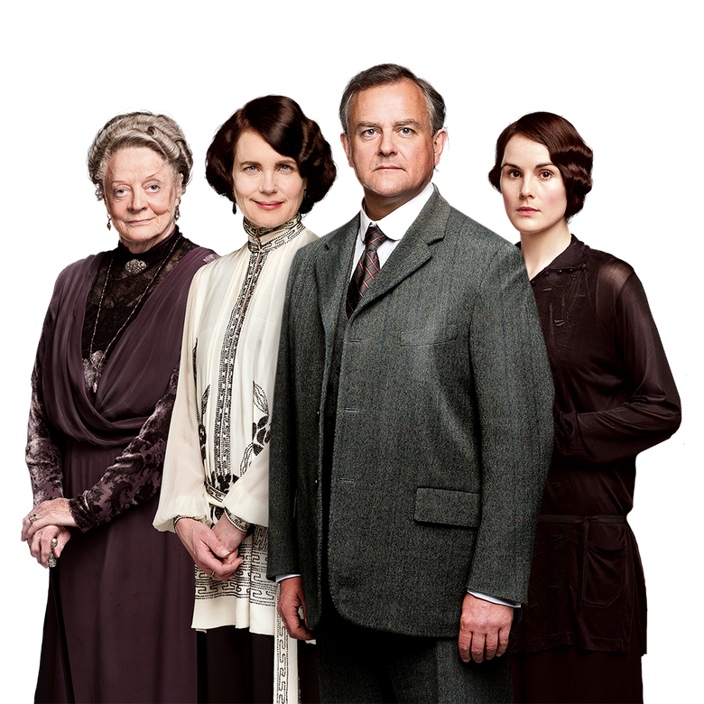 premier plan Downton Abbey