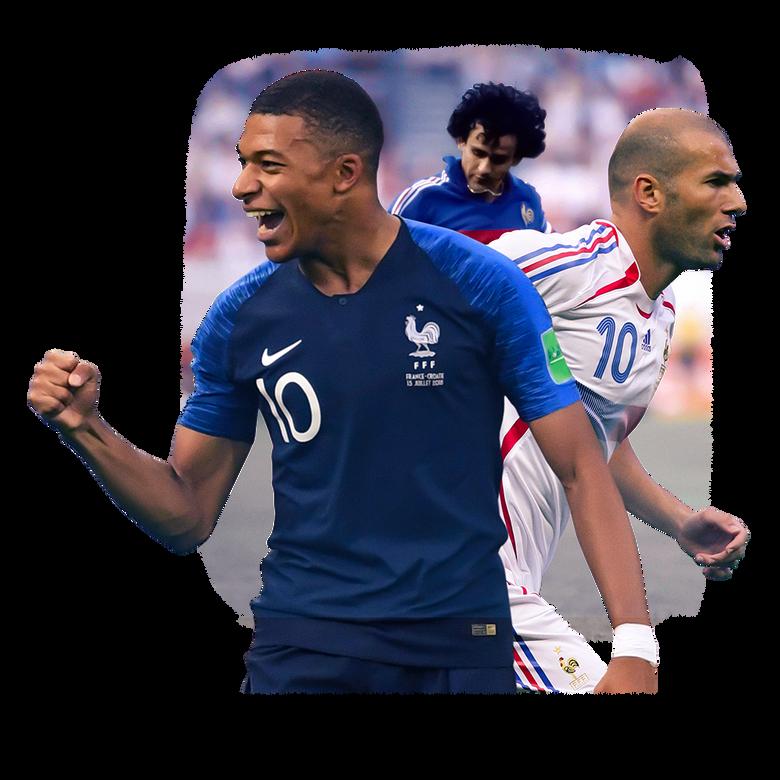premier plan L'équipe de France