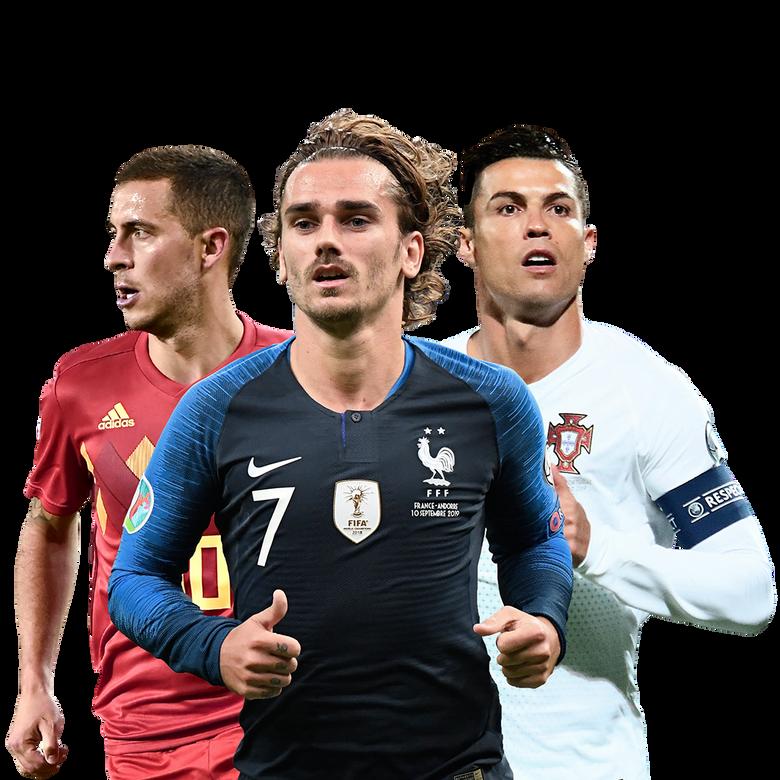 premier plan Euro 2020 de football