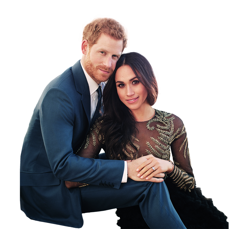 premier plan Le mariage du Prince Harry et Meghan Markle