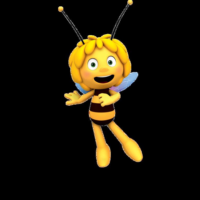 premier plan Maya l'abeille
