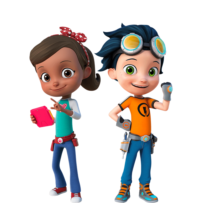 premier plan Rusty Rivets