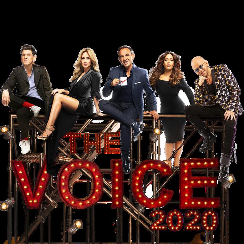 premier plan The Voice
