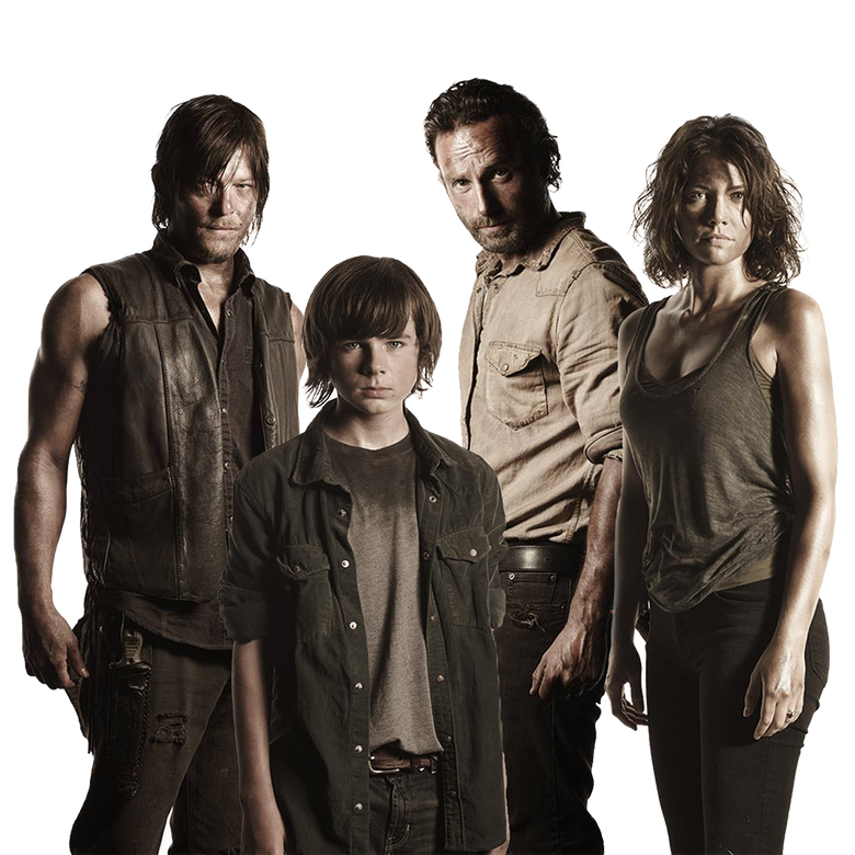 premier plan The Walking Dead