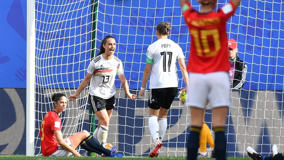 L'Allemagne bat l'Espagne et se rapproche de la qualification