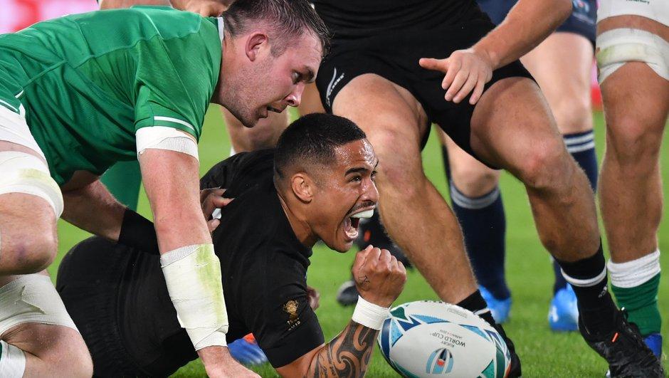 Les Blacks corrigent l'Irlande (46-14) et rejoignent l'Angleterre en demi-finale