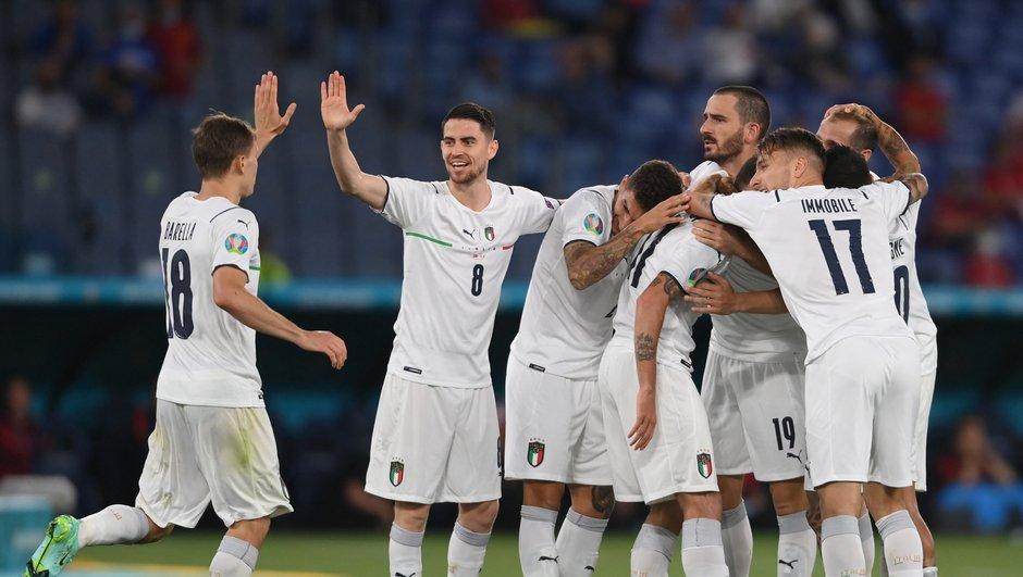 L'Italie, seulement 12 frappes concédées en trois matches