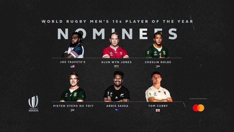 Les nommés pour le titre de joueur de l'année sont connus