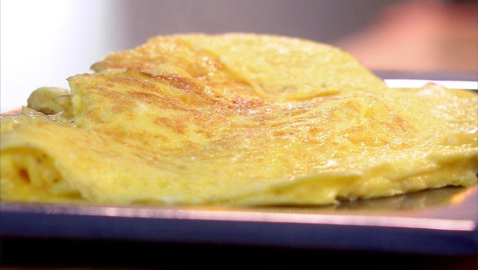 L'omelette baveuse