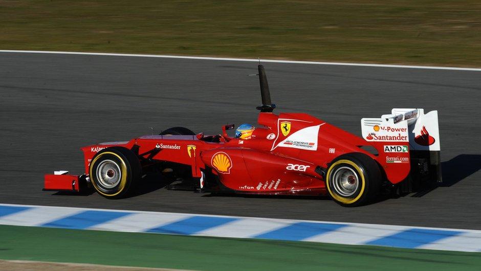 F1 - Jerez 2012 : résultats de la 4è et dernière journée de tests