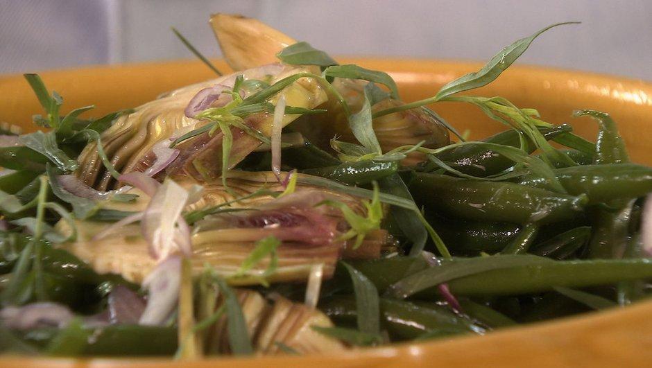 salade-haricots-verts-a-l-estragon-artichauts-poivrade-1431034