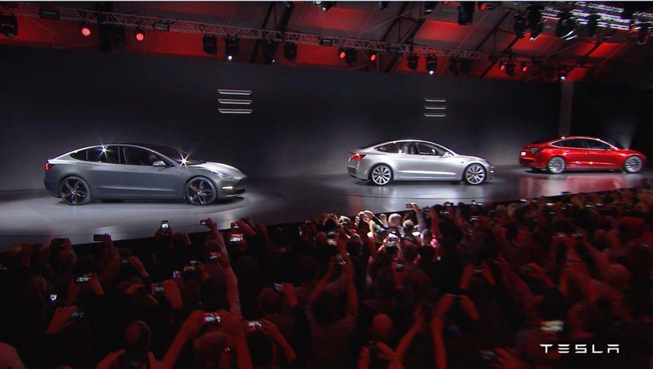 Future Tesla Model 3 : les vidéo, photos et infos officielles de la berline électrique