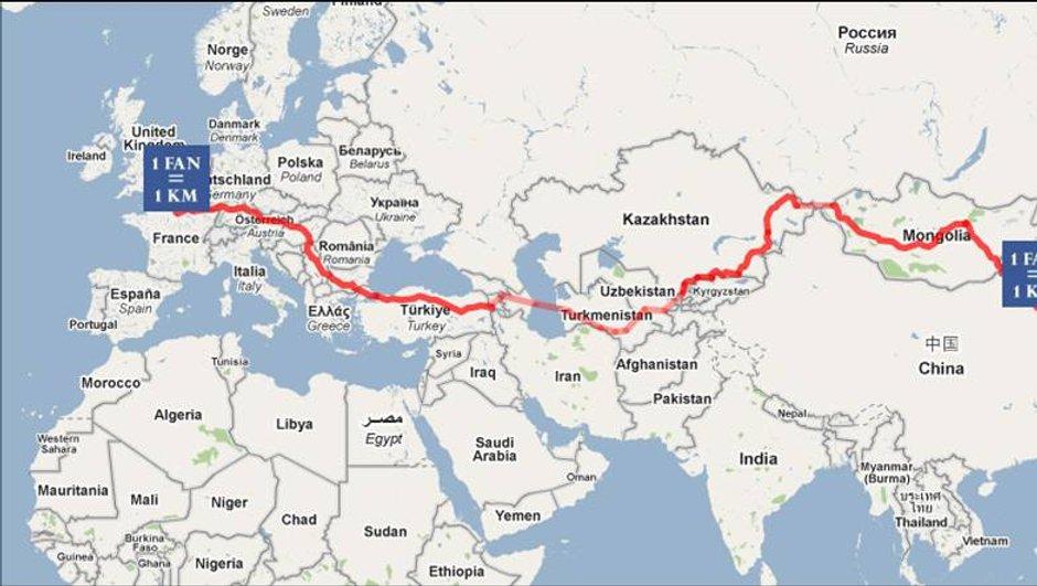 1 Fan = 1 Km : participez à l'aventure automobile nomade