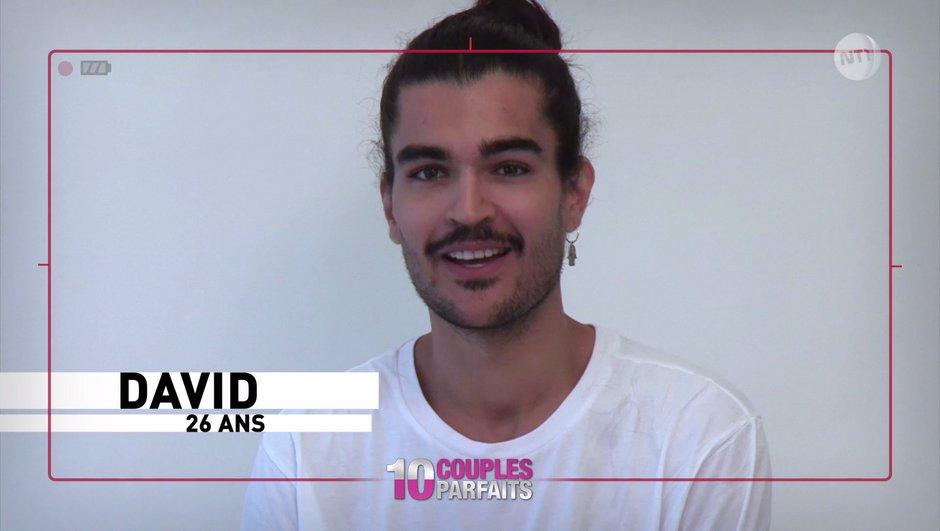 """Qui est David, le mannequin sûr de lui de """"10 couples parfaits"""" ?"""