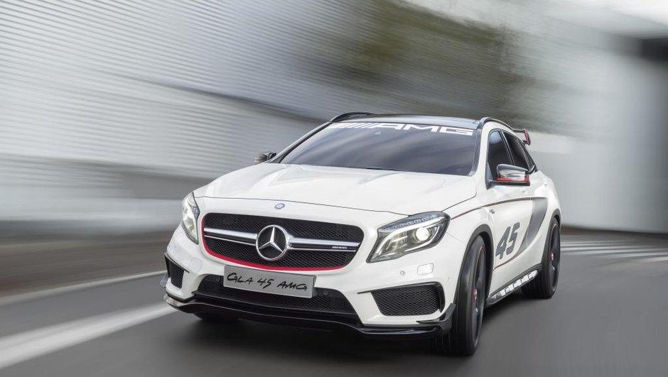 Los Angeles 2013 : Mercedes confirme son GLA 45 AMG Concept
