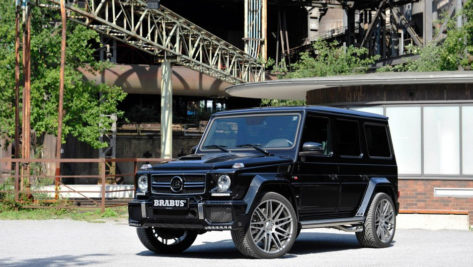 Brabus 850 6 0 Biturbo Widestar 2015 Le Monstre Mercedes
