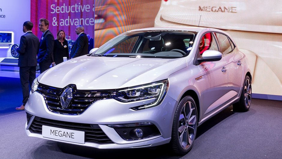 Salon de Francfort 2015: la nouvelle Renault Mégane IV s'aiguise