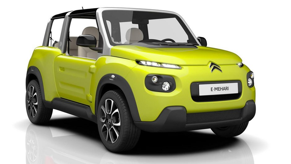 Nouvelle Citroën E-Méhari 2016 : la renaissance électrique ?