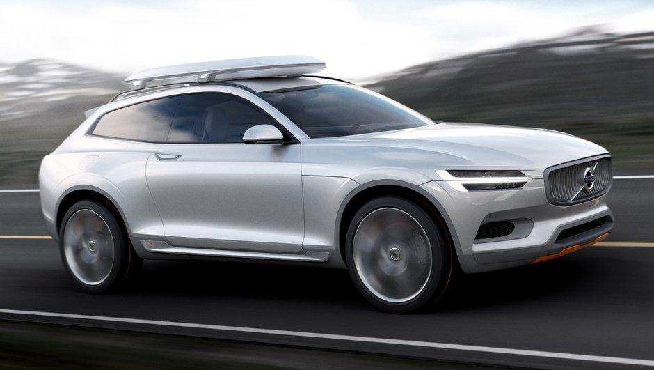 Salon de Détroit 2014 : le Volvo XC Coupé Concept révélé