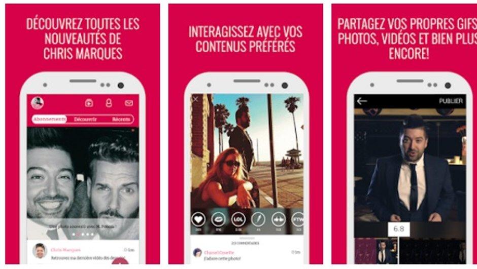 Chris Marques lance son appli mobile pour iOS et Androïd !