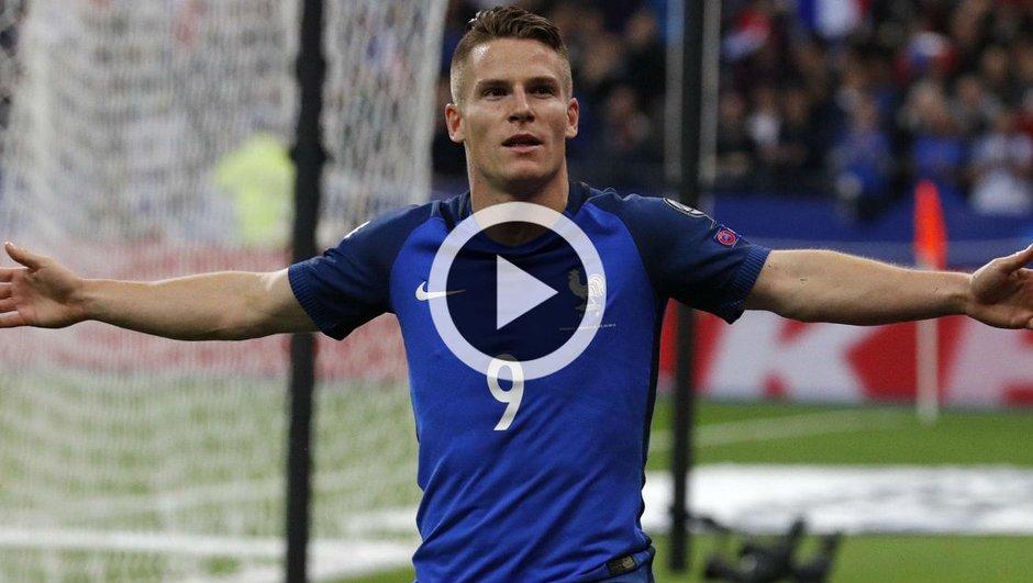 France - Bulgarie : Egalisation de Kévin Gameiro (1-1) !