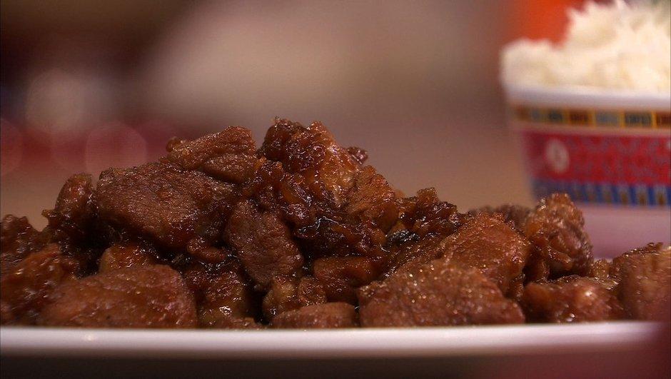 Porc au caramel - Nouvel an chinois