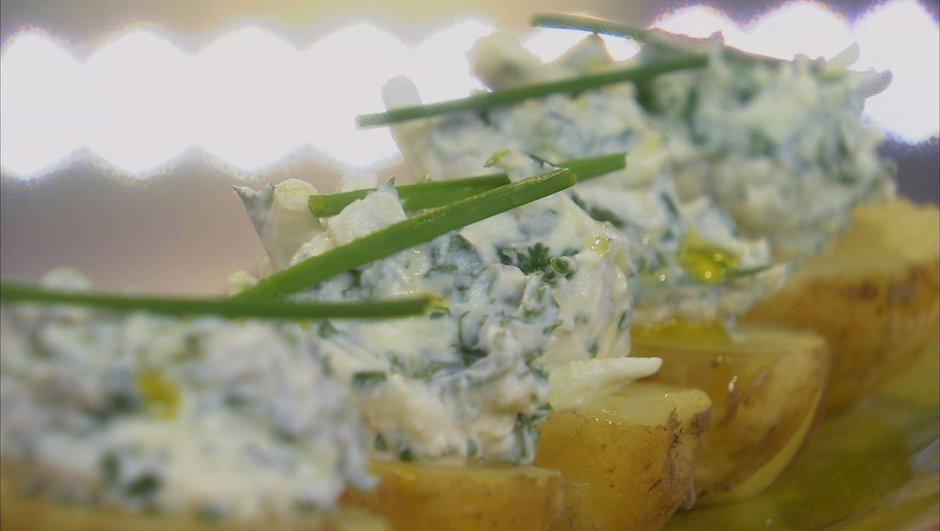 Sirtema de Noirmoutier au fromage frais