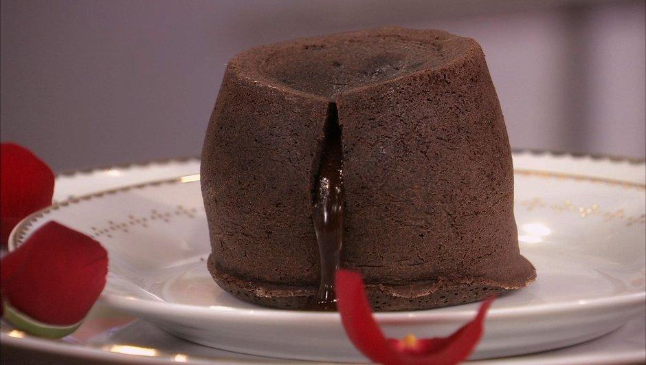 Moelleux au chocolat au coeur coulant pimenté