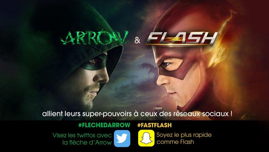 Jeu #FastFlash : soyez rapide comme Flash !