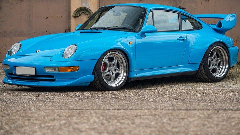 Une Porsche 993 GT2 vendue plus de deux millions d'euros
