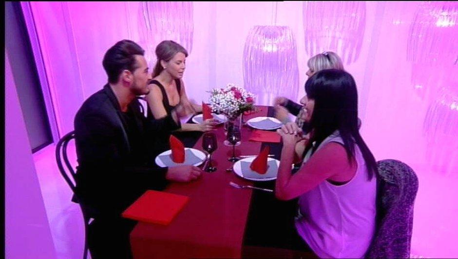 Rencontre autour d'un dîner pour Emilie, Rémi et leurs mamans