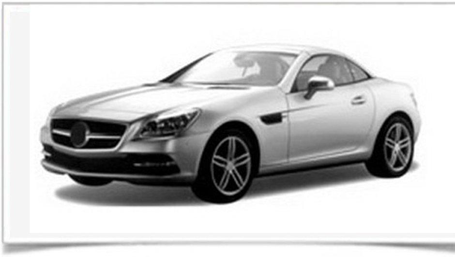 Mercedes SLK 2011, de nouvelles photos apparaissent