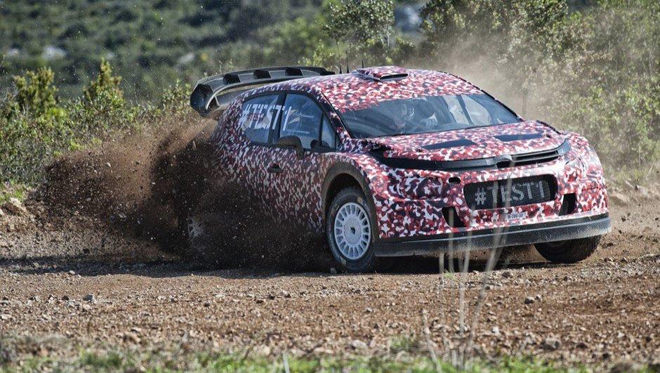 WRC 2017 : Citroën dévoile la future C3, et en vidéo !