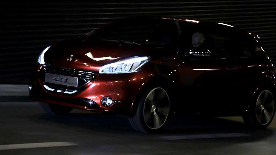 Vidéo : la Peugeot 208 GTI Concept se défoule