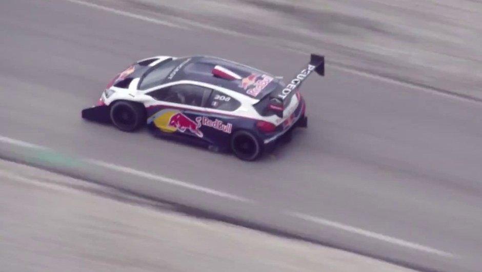Vidéo : Loeb et la Peugeot 208 T16 Pikes Peak au Mont Ventoux