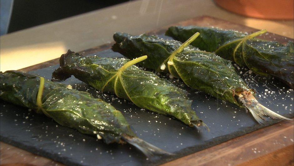 Sardines farcies de brousse et de menthe