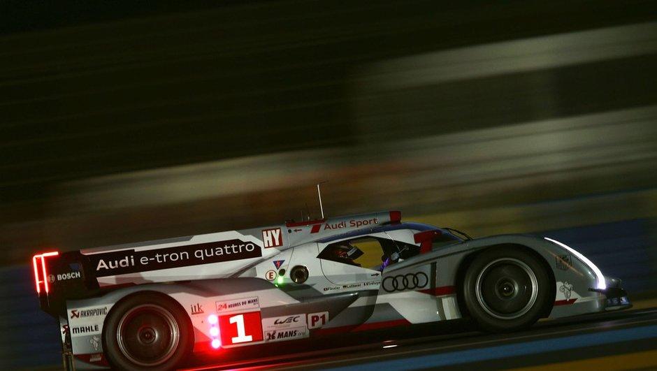 24H du Mans 2012 - qualifications : trois Audi R18 en tête