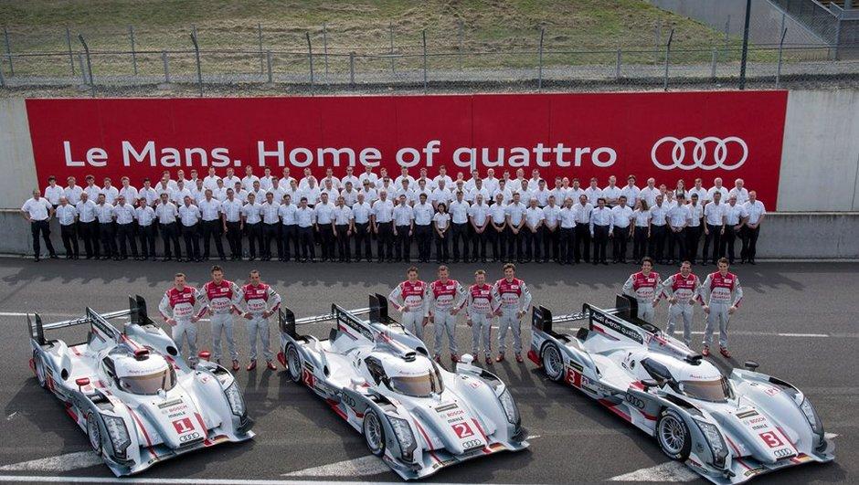 24h du Mans 2013 : pourquoi Audi part favori