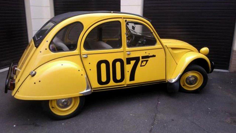 """Jeu-Concours : qui est le gagnant de la 2CV  """" James Bond """" ?"""
