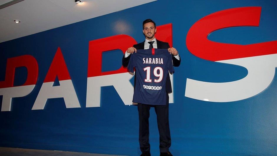 Pablo Sarabia présenté par le PSG
