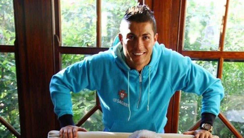 Cristiano Ronaldo rencontre Nelson Mandela