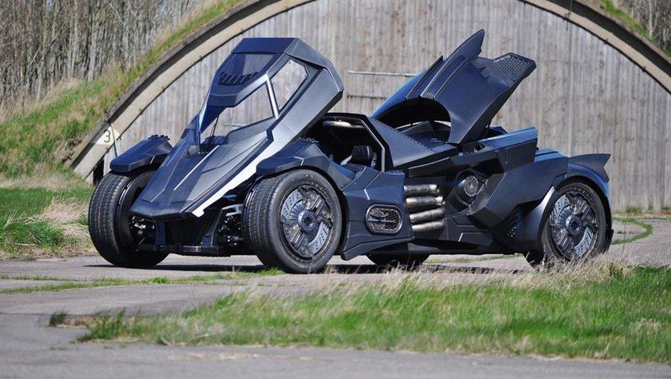 Caresto Arkham Car : la Batmobile basée sur une Lamborghini