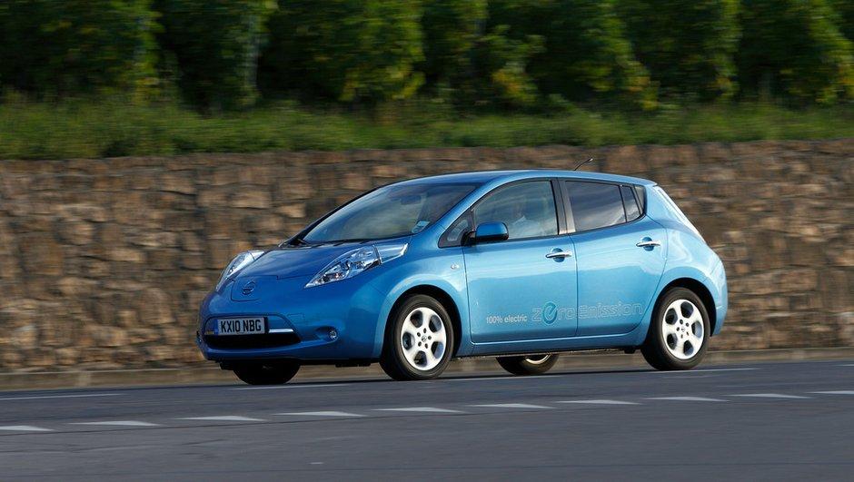 La première Nissan Leaf est sortie des usines