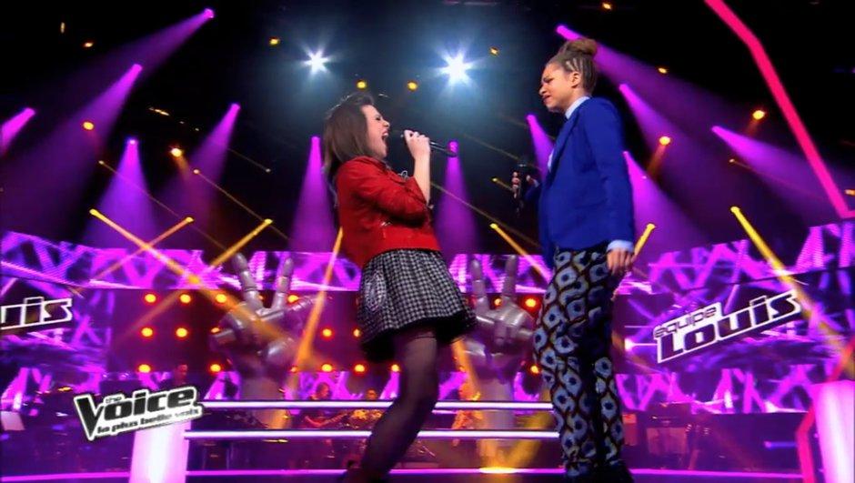 """The Voice : Cécilia Pascal remporte sa battle sur """"Marcia Baïla"""""""